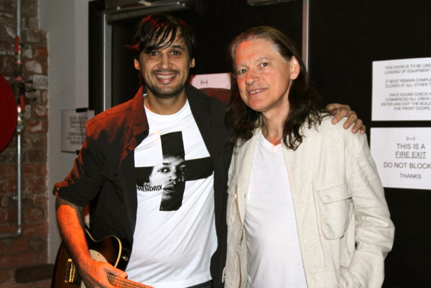 Jonathan Geange and Robben Ford
